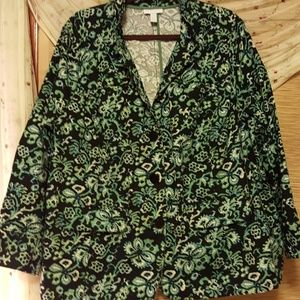 Charter Club cotton jacket